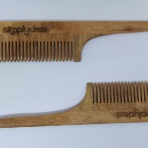 Neem Wood Tail Comb